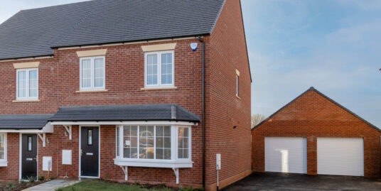 Plot 16, The Elm, Nightingale Road, Great Barford – Three double bedroom Semi detached with garage and driveway