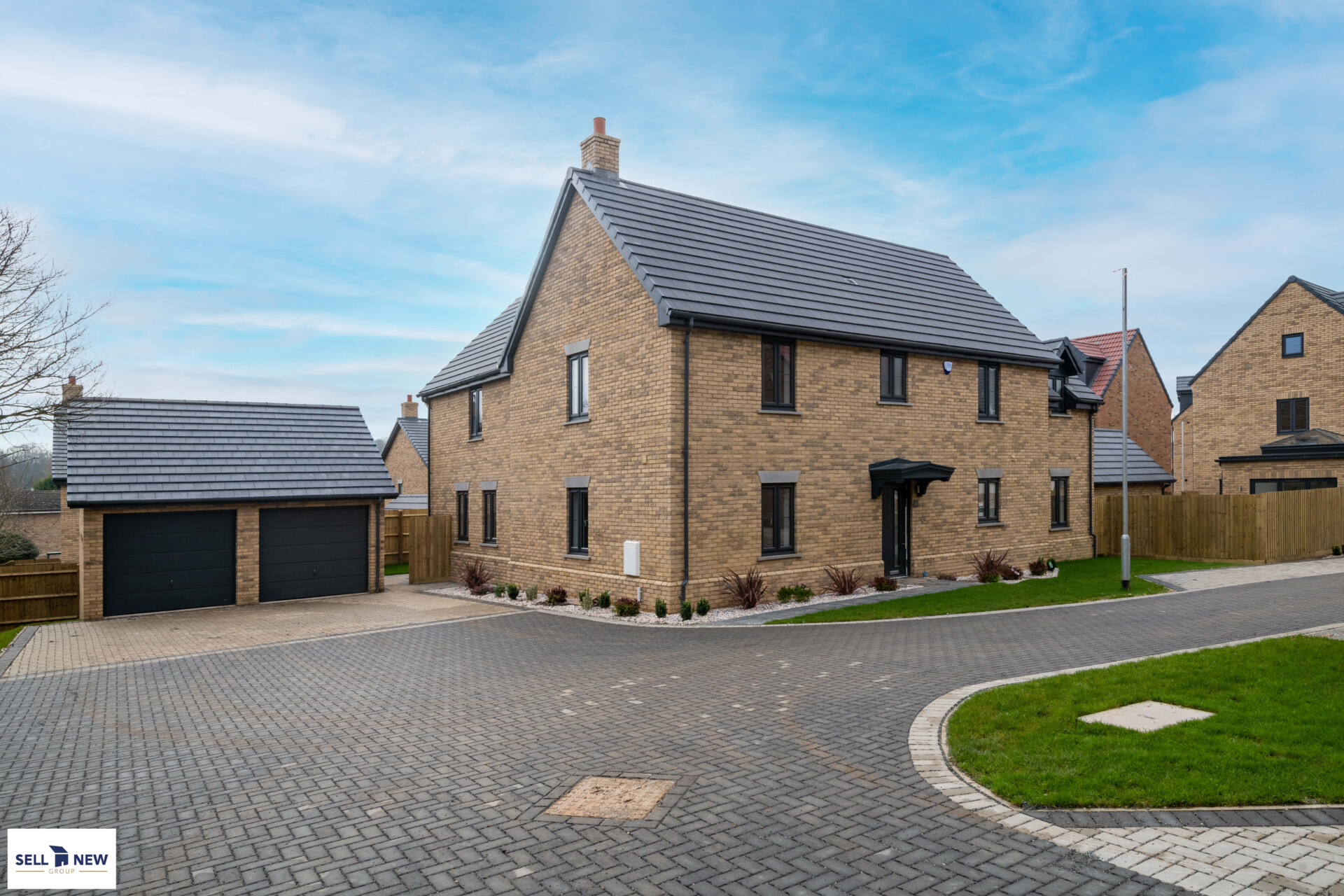 Plot 16 Woodlands Maulden – Spacious four bedroom detached with double garage
