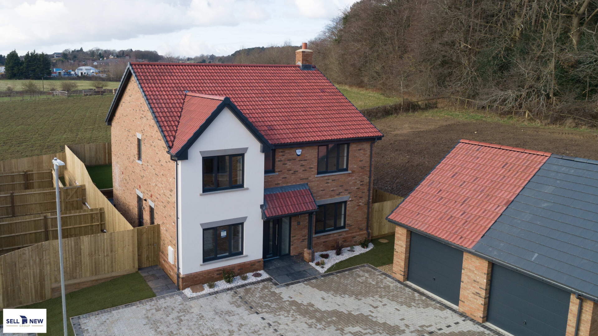 Plot 10 Woodland Gardens, Maulden – Four bedroom detached with nature and wood views to side