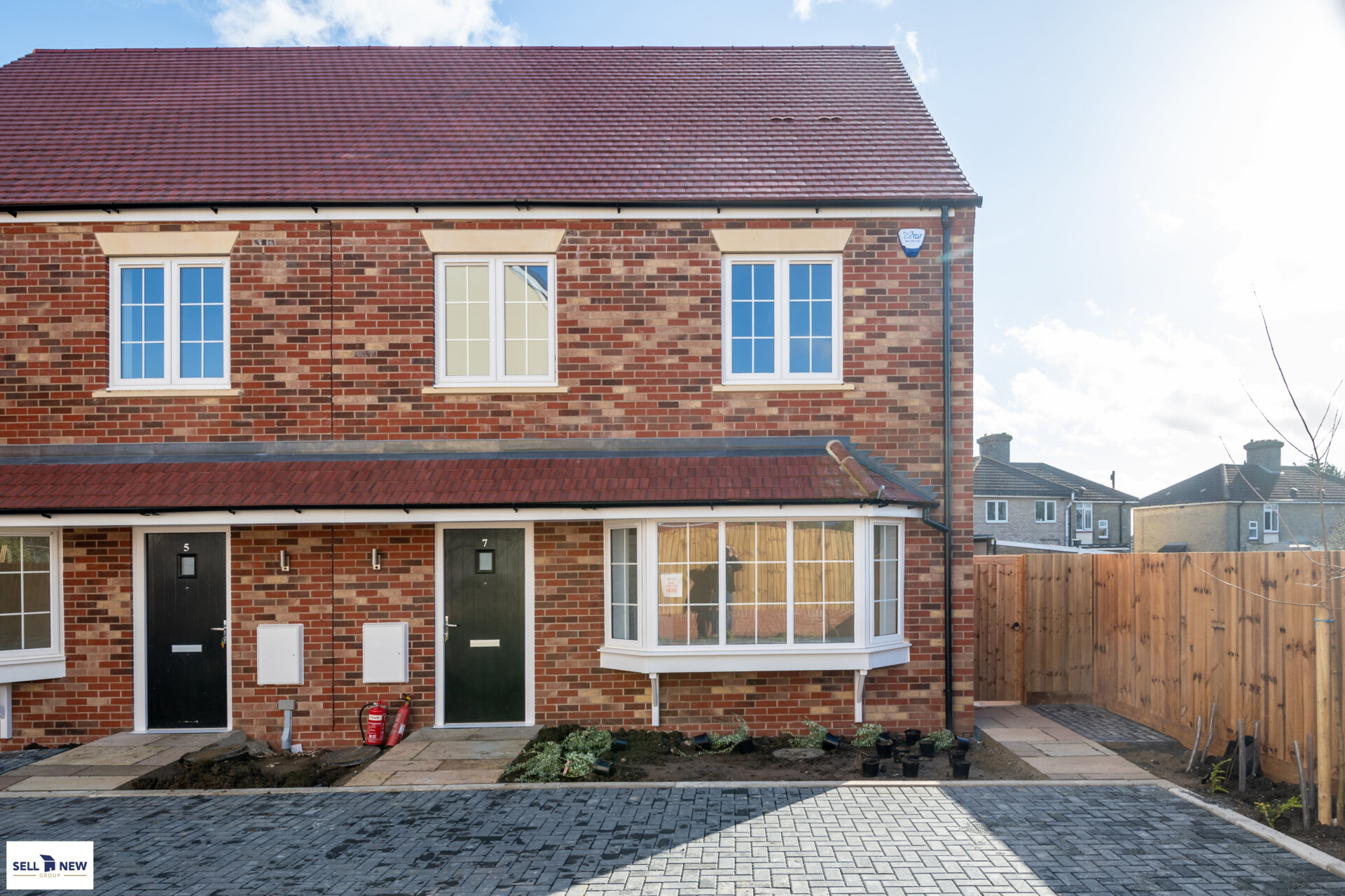 Plot 13 Nightingale Road Great Barford – Three bedroom semi-detached located at end of Cul-de-sac