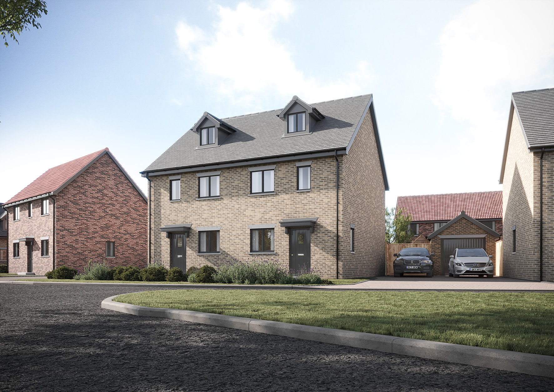 3 Moor Lane Maulden**Stunning new development – Help to buy available**