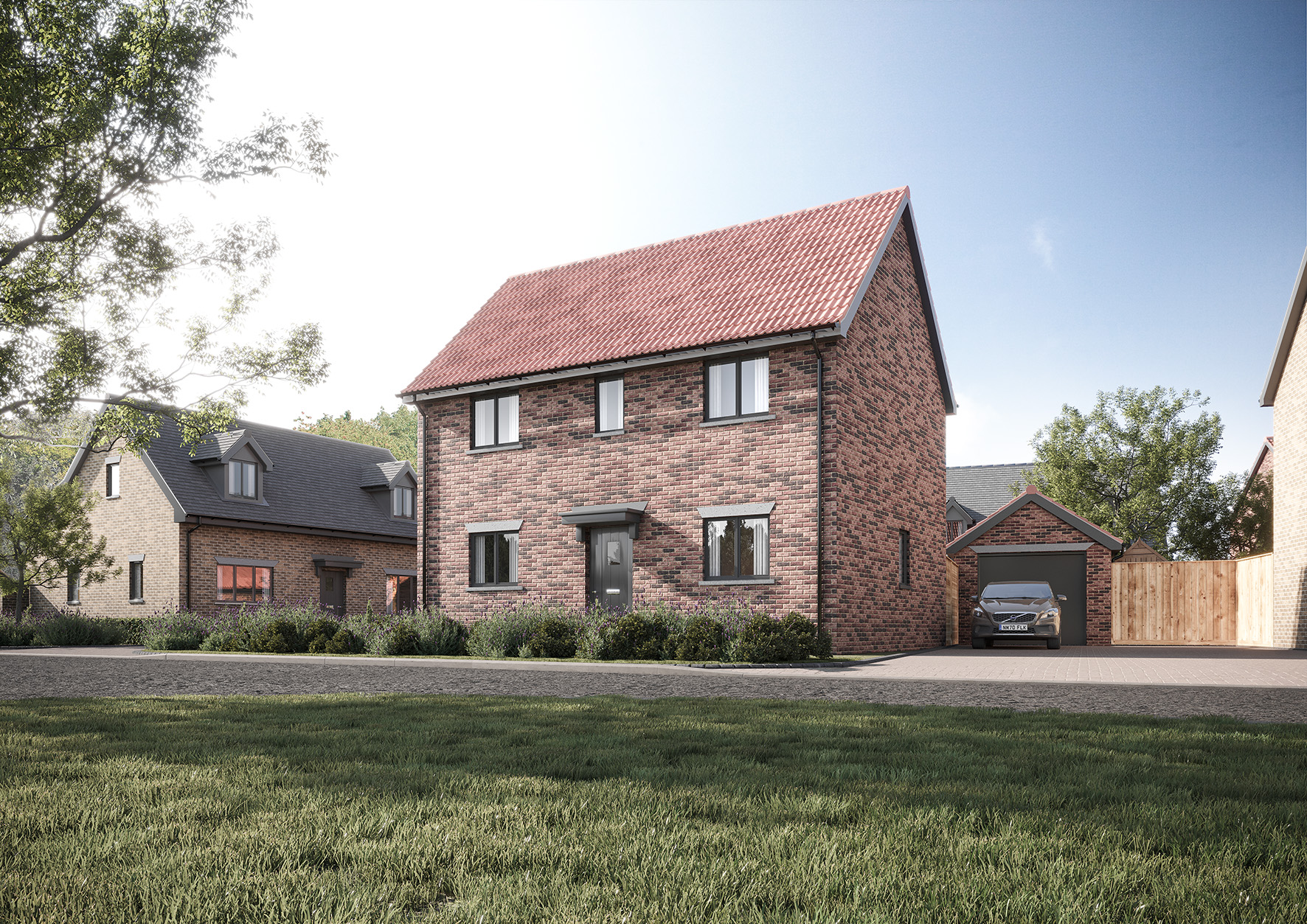 4 Moor Lane Maulden **Just released! This brand new THREE double bedroom detached family home **