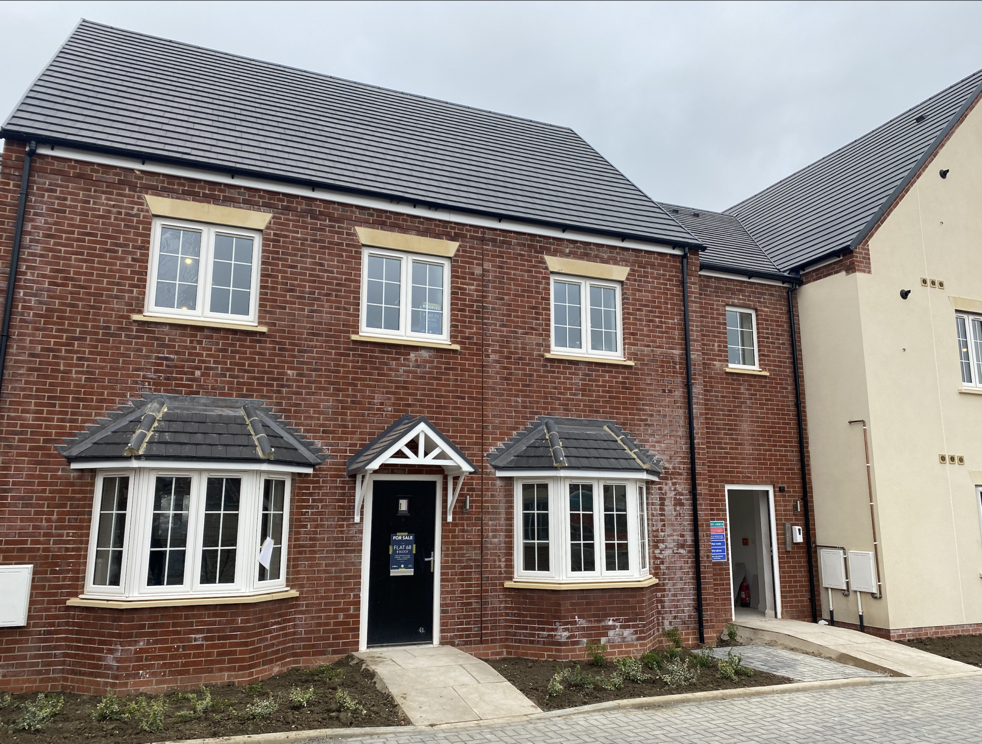 72 Nightingale Great Barford – First floor two bedroom apartment with allocated parking space