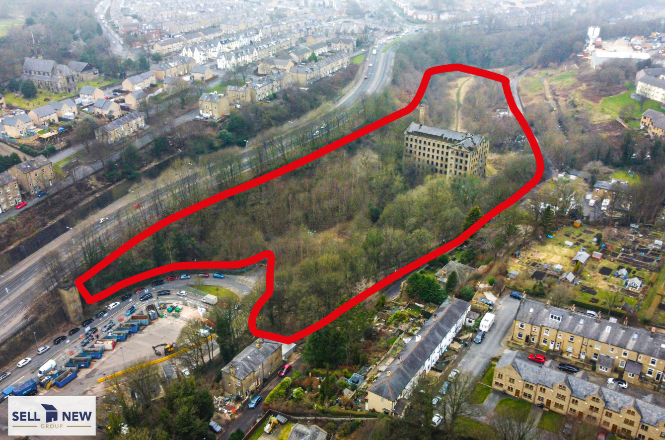 Old Mill, Old Lane, Halifax, HX3 6TF – 8.3 Acres of land with potential for 120 residential homes