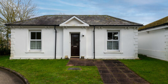 **LOVELY POSITION ON SITE**TWO bedroom bungalow in sought after private retirement development