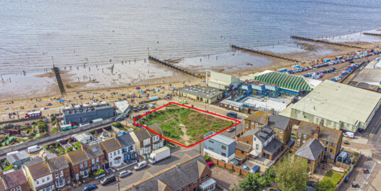 Fantastic residential land opportunity with sea and beach views – Planning permission GRANTED for 16 apartments and 17 car parking spaces