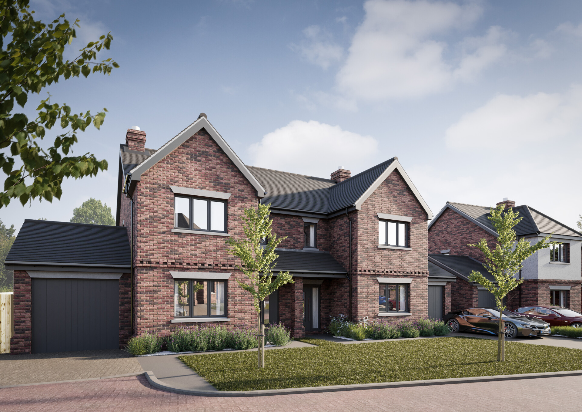 Plot 5 Townsend Meadows Ashwell, Four bedroom 2.5 storey Semi-Detached home in Hertfordshire village